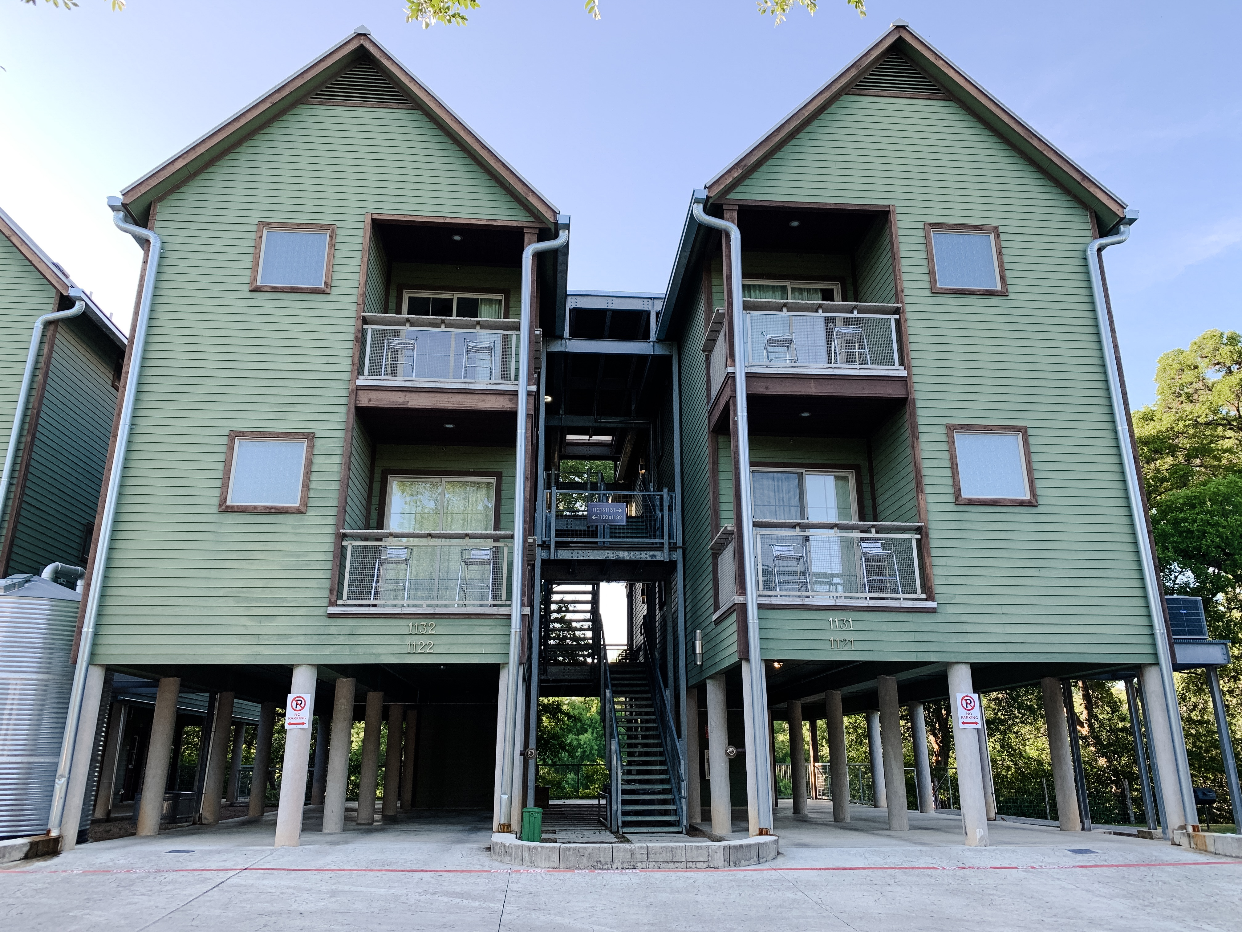 The Schlitterstein Lofts are great accommodations for families.