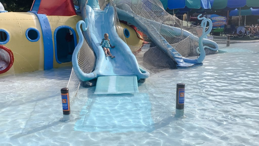 So many great activities for younger kids at Schlitterbahn