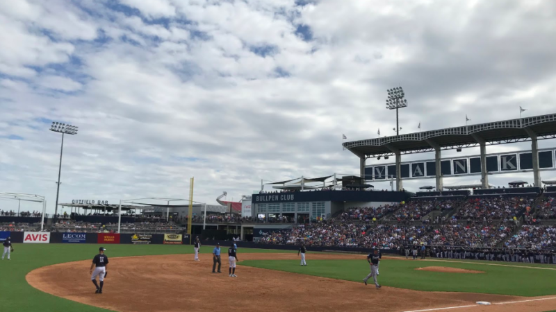 Have you been to a spring training baseball game?