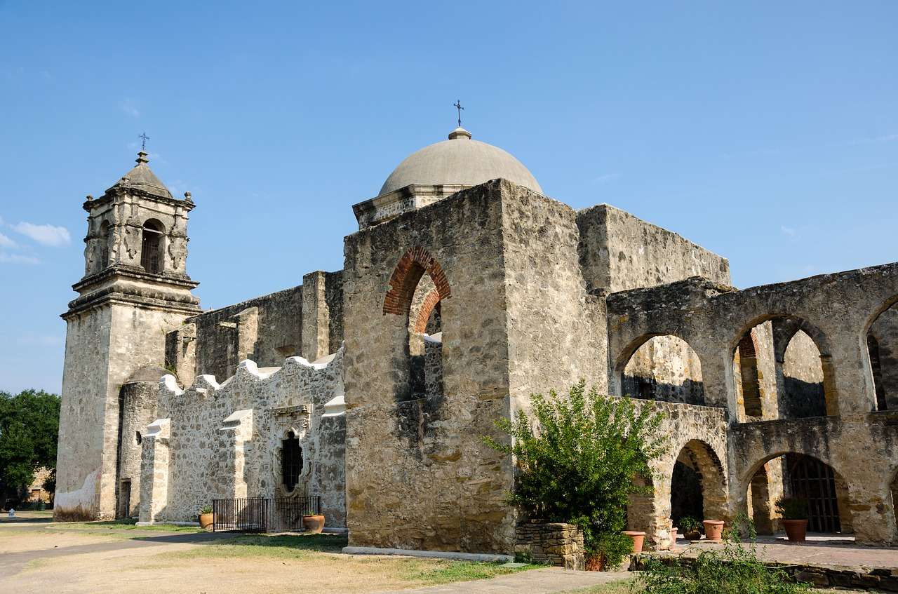 The San Antonio Missions are one of many national parks in Texas to explore.