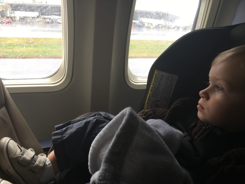 When flying Southwest Airlines, you can board early with kids under four