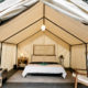 The luxury Autocamp Yosemite tent
