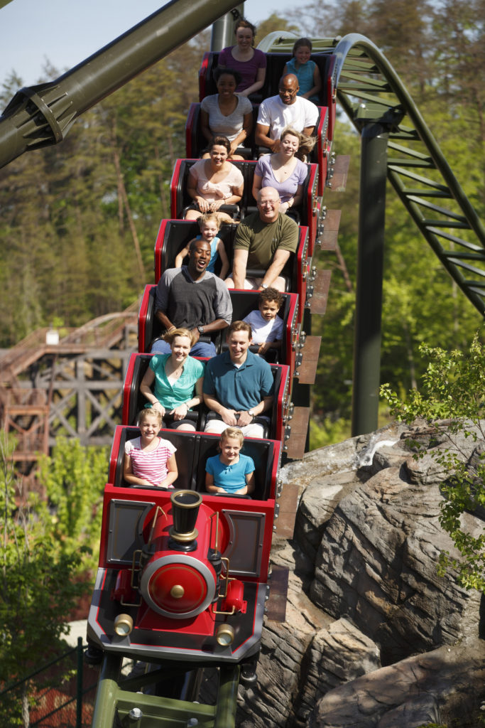 FireChaser Express ride at Dollywood.