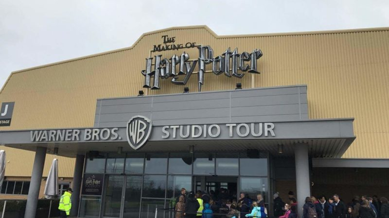 The Warner Brothers Harry Potter Studio Tour in London