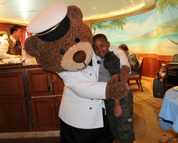 My youngest son loved breakfast with Stanley, the Princess Cruise Mascot. Be sure to make a reservation and enjoy it. Photo Credit: Kendra Williams, LongWeekend TravelingMom