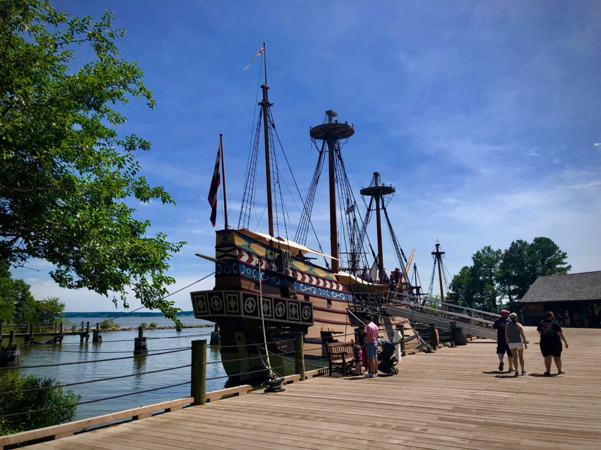 Things to do in Greater Williamsburg include living history at Jamestown Settlement.