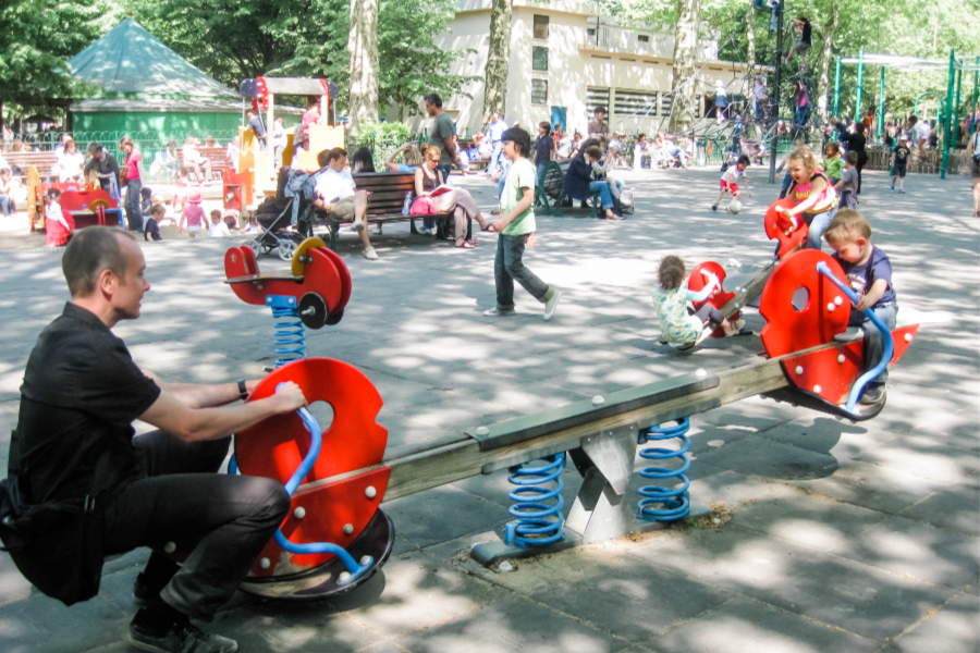 Jardin du Luxembourg Paris with kids