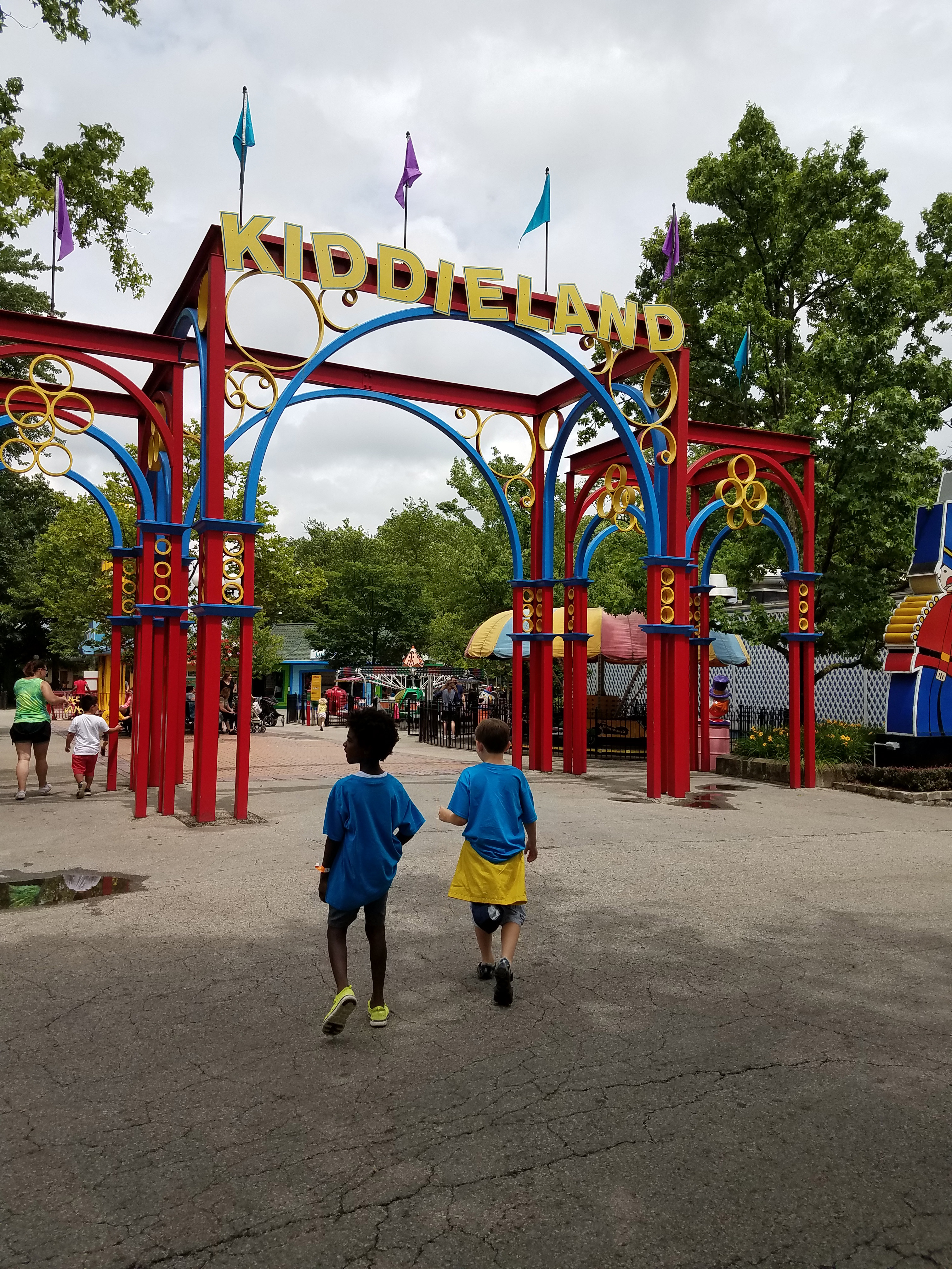 Kennywood Park Kiddieland in Pittsburgh