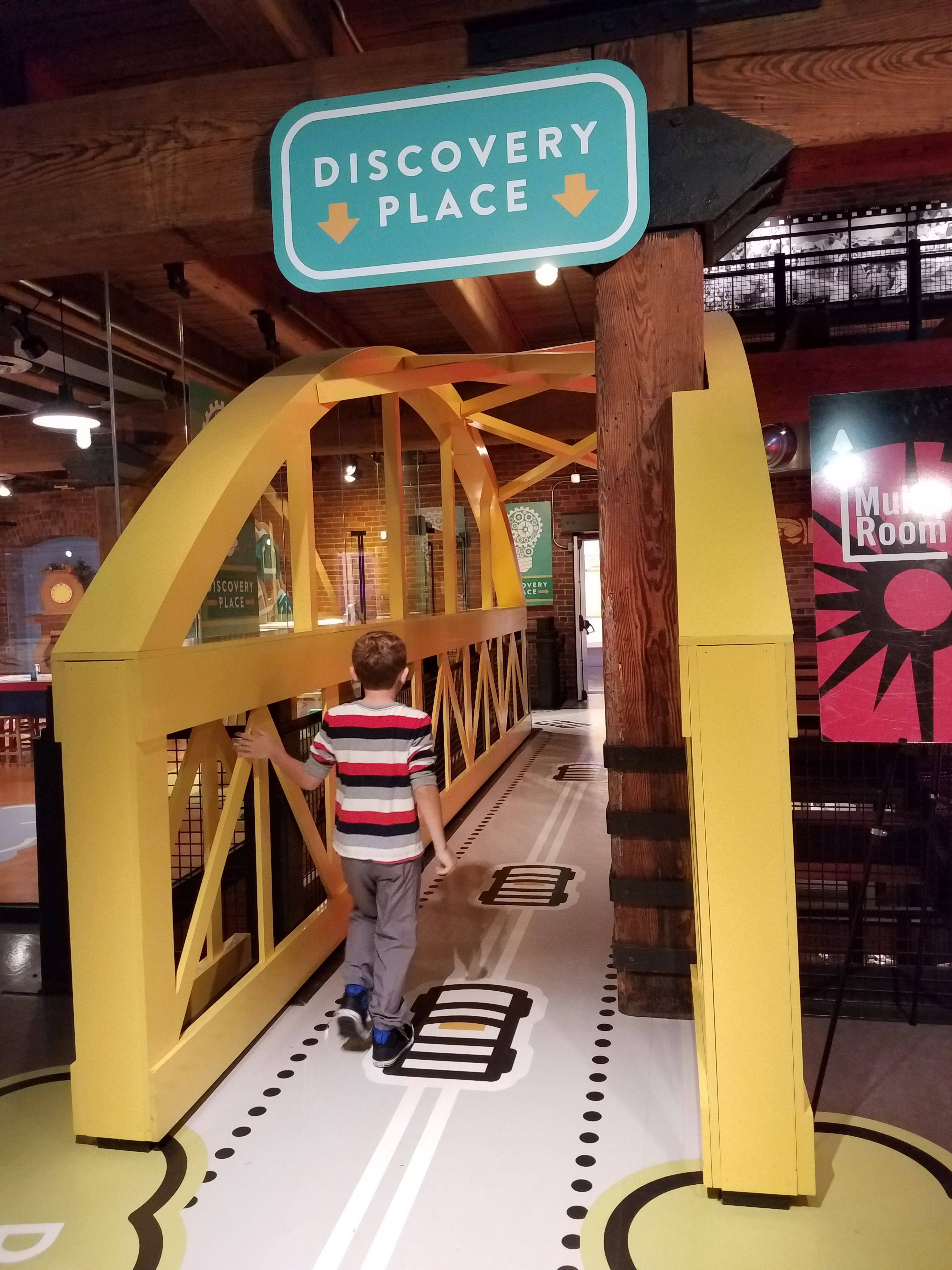 Discovery Place in the Heinz Center of Pittsburgh