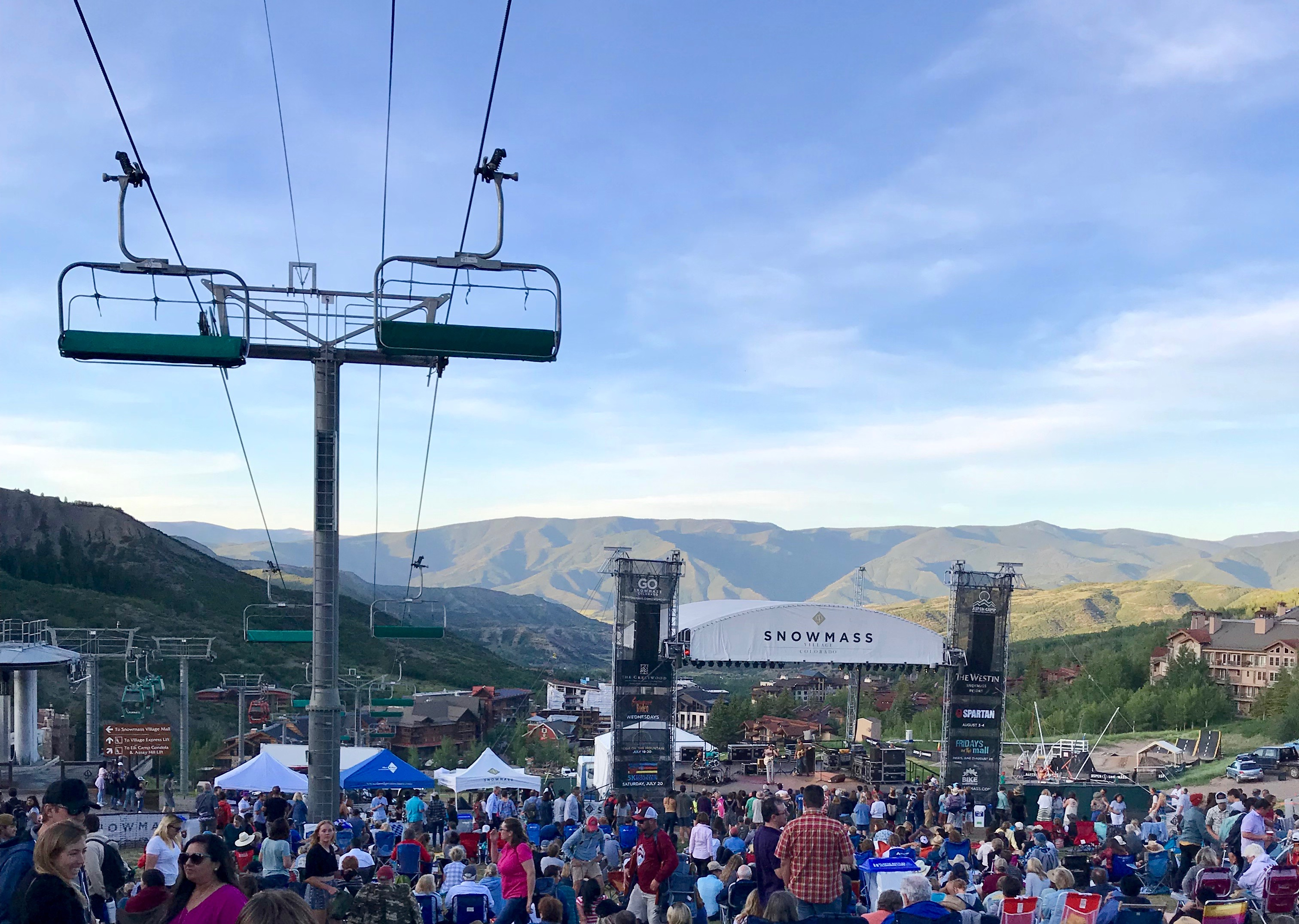 Snowmass in summer