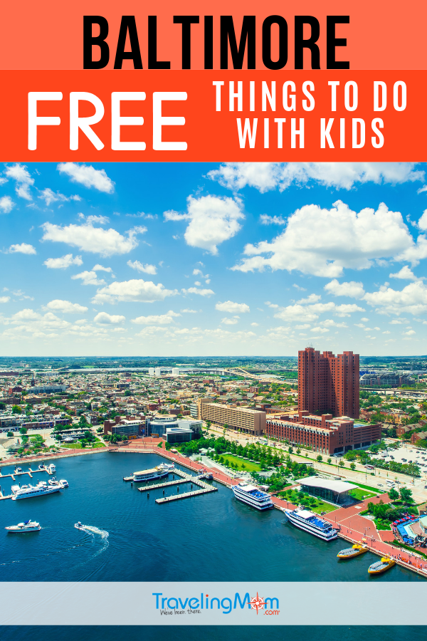 Exploring Baltimore just got better with these budget-friendly travel tips of things to do in the popular Maryland city! #TMOM #Freein50States #Baltimore #Maryland | TravelingMom | Free in 50 States | Budget Travel | Free Travel