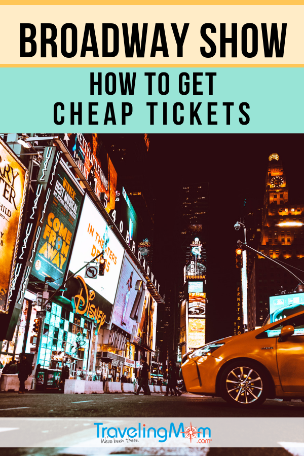 Taking in a Broadway show during your trip to NYC but don't want to overpay? Here's how to score cheap tickets to a Broadway show in the Big Apple, from a New York City insider. #TMOM #NewYorkCity #Broadway | TravelingMom | Theater