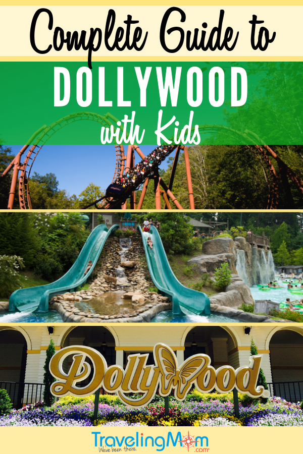 The complete guide to visiting Dollywood theme park with kids! This wonderful amusement park in Pigeon Forge Tennessee is a bright spot that can't be missed! #TMOM #Dollywood #Tennessee #PigeonForge | TravelingMom