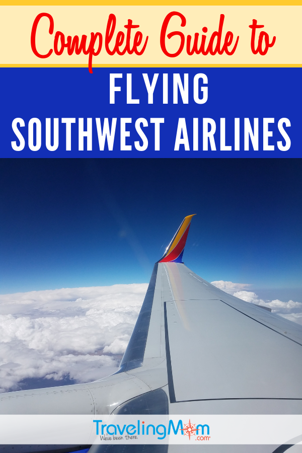 Southwest Airlines is known for their great prices but is it the right airline choice for your family travel? These are all the best tips for getting the best prices, boarding strategies, how to deal with luggage and more. #TMOM #AirTravel #SouthwestAirlines | TravelingMom | Plane Travel Tips | Budget Air Travel | Travel with Kids