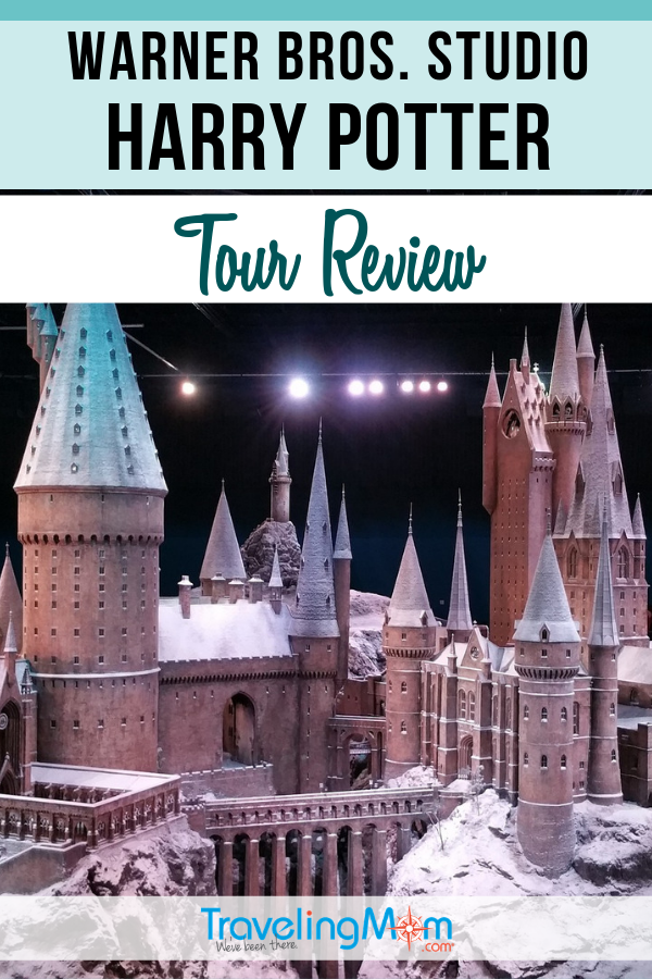 "For true ""Potter Heads"" a visit to the Warner Bros. Studio for a tour of Harry Potter movie memorabilia and sets is a magical dream come true. Find out the details in this tour review. #TMOM #Tour #HarryPotter 