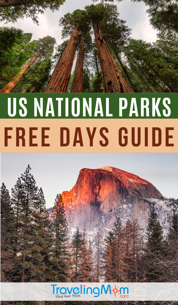Get all the details on FREE days in the United States National Parks. This money saving family vacation guide will get you in the great outdoors and into the parks on a budget. #TMOM #NationalParks #BudgetTravel | TravelingMom | Travel with Kids | Family Travel | Budget Travel