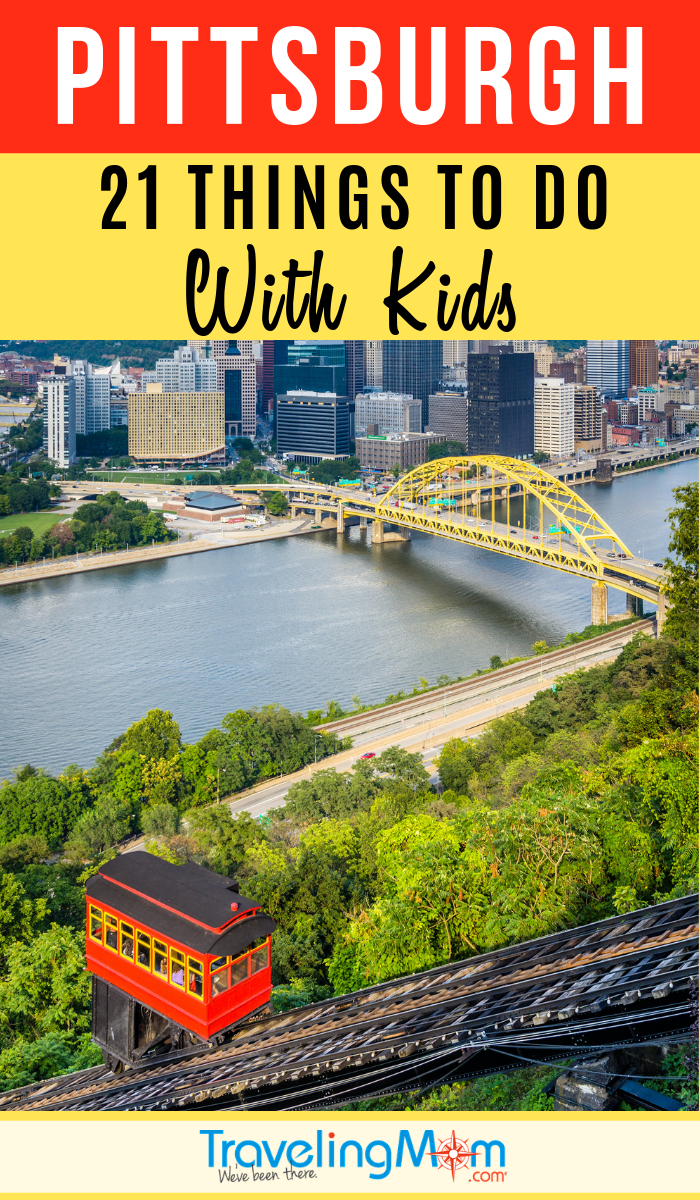 Pittsburgh Pennsylvania is a family-friendly vacation destination with tons of indoor and outdoor activities for kids. These are the top 21 things to do in Pittsburgh with kids! #TMOM #Pittsburgh #Pennsylvania | TravelingMom