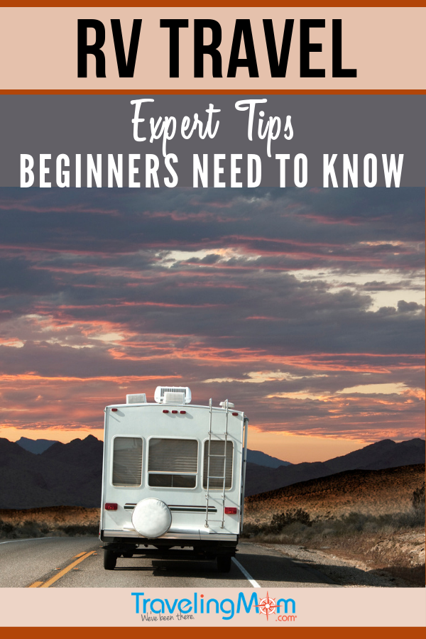 If you've never done RV travel, you might wonder if it's the right fit for your family. These are the expert tips that all beginners need to know about traveling in a camper. #TMOM #Trailer #RV #Camping | TravelingMom