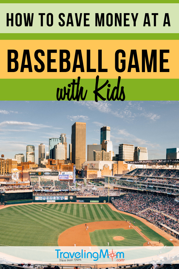 Sporting events can be costly but these tips for saving money at a baseball game means more cash for Cracker Jack! #TMOM #Baseball #BudgetTravel | TravelingMom | Travel with Kids | Family Travel