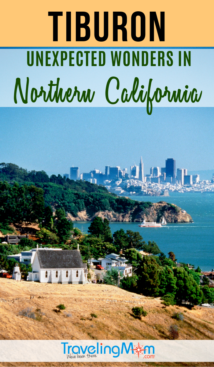 The best lodging outside of San Francisco, Tiburon California is home to other unexpected wonders. #TMOM #California #SanFrancisco | Norcal | TravelingMom