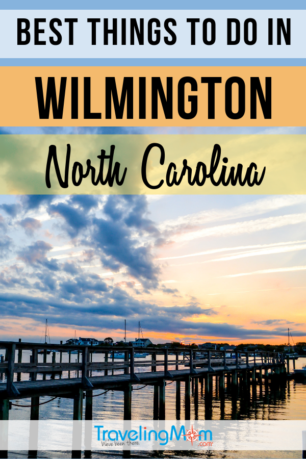 Wilmington North Carolina offers a nice variety of indoor and outdoor activities for families. Plan a multigenerational vacation with these ideas for everyone from toddlers to grandparents. #TMOM #Wilmington #NorthCarolina | TravelingMom | United States | US Travel