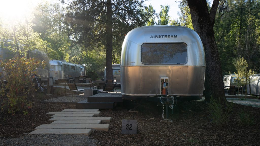 Autocamp Yosemite 80 Airstream campers