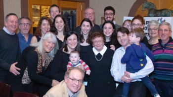 Planning a family reunion around a birthday