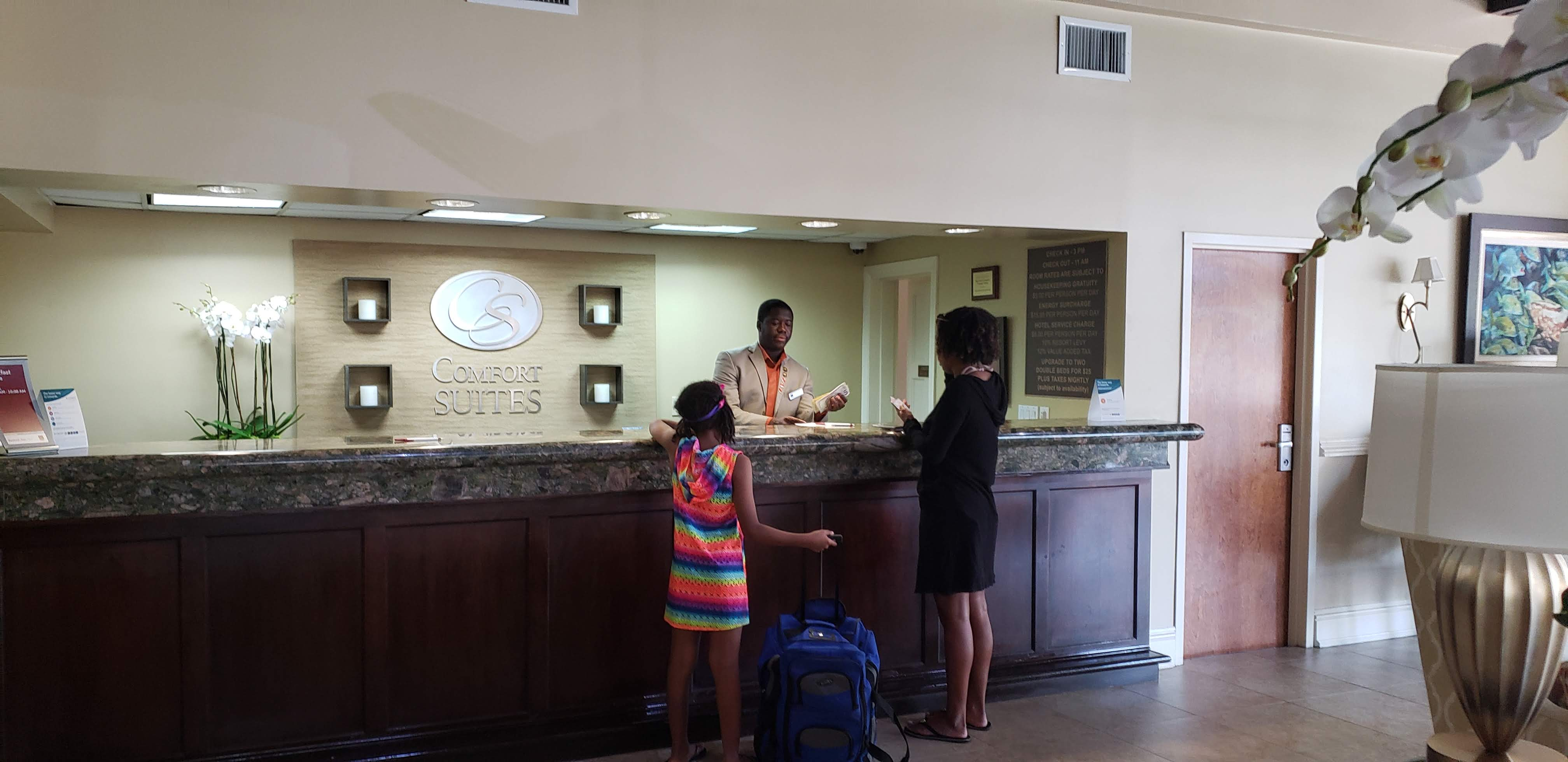 Check in to the family friendly Comfort Suites Paradise Island and enjoy full complimentary access to The Atlantis and Aquaventure Waterparks and pools.