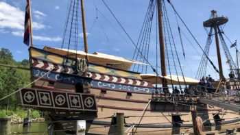Things to do in Williamsburg, VA include Jamestown Settlement.