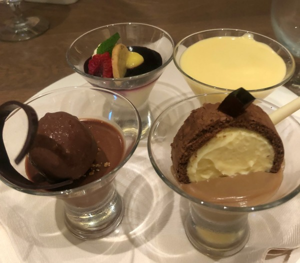 More of the Caribbean Princess review, try all the desserts! This chef's special in Sabitini's was an amazing treat.