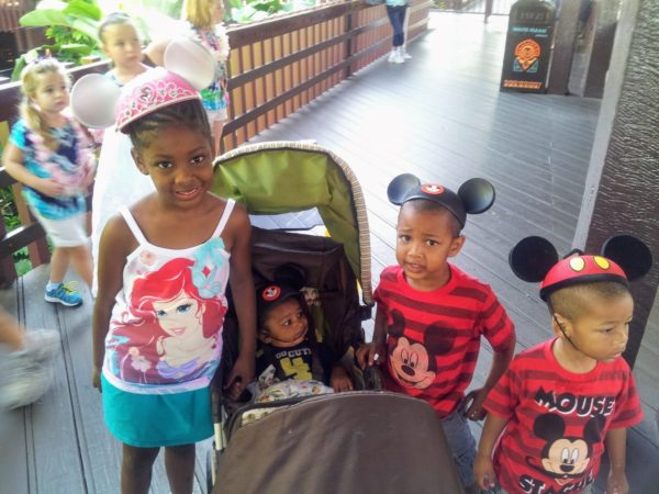 Going to Disney with toddlers is totally doable at Mickey's Not So Scary Halloween Party.