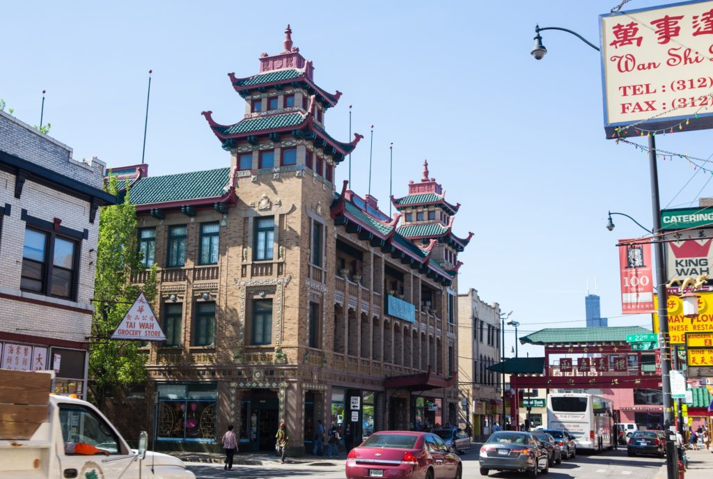 Chicago's Chinatown is a fun neighborhood to visit, and a budget-friendly place to eat. Photo courtesy of Choose Chicago.