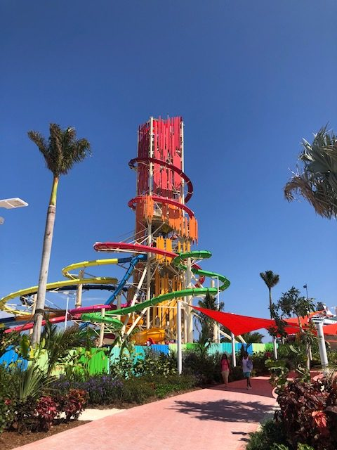 The CocoCay waterpark