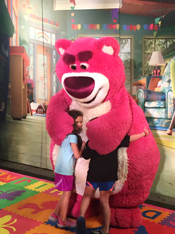 Meet special characters like Lotso during Mickey's Not So Scary Halloween Party.