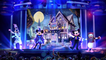 Mickey's Trick and Treat Show at Oogie Boogie Bash
