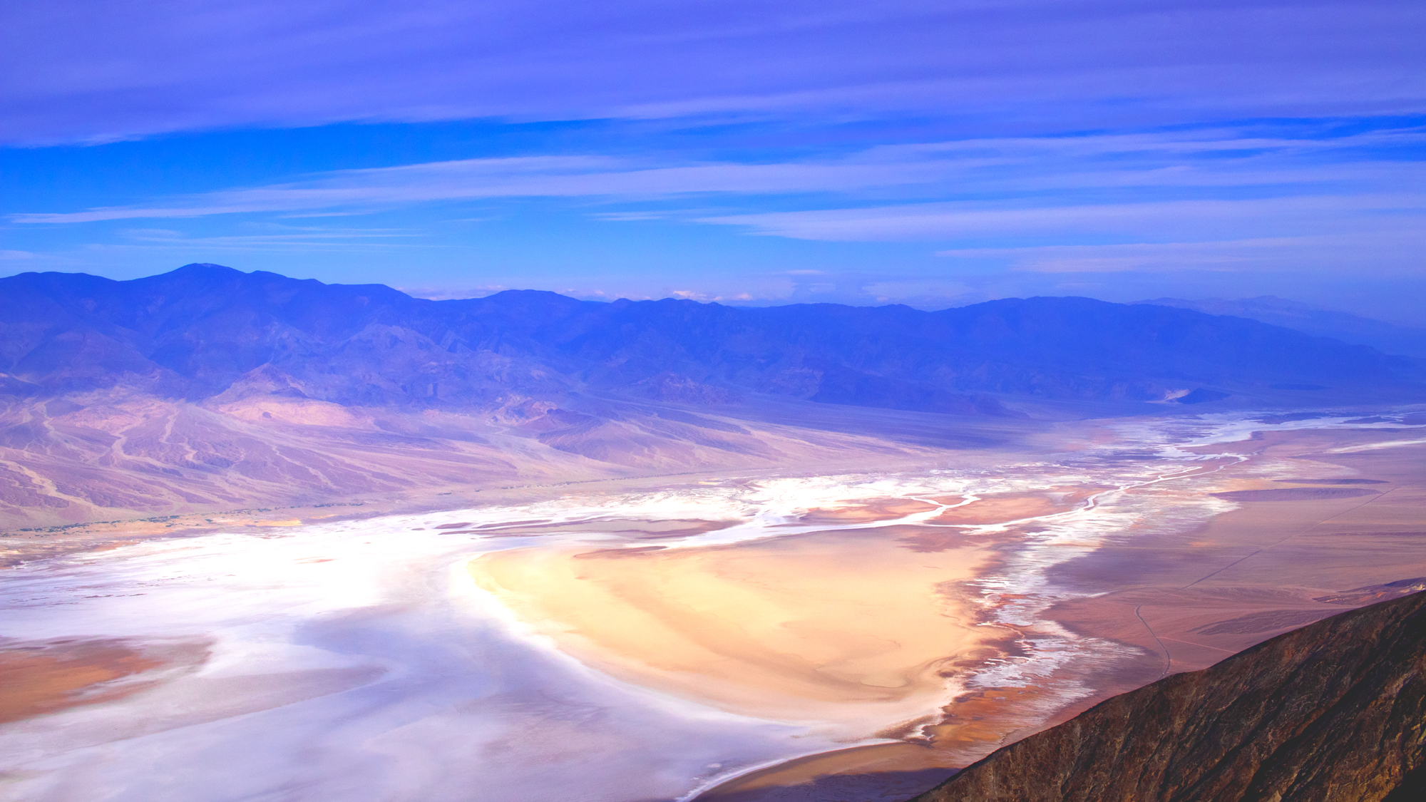 Photo of view of Death Valley from Dante's View