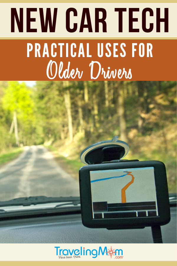 New car tech can help older drivers on the road or at home. Get the tips on how to use technology for helping and not overwhelming elderly drivers. #TMOM #Driving #CarTech | TravelingMom | Senior Citizens