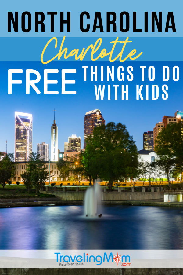 Freebies for families in Charlotte North Carolina! These budget family travel tips include free things to do in North Carolina's Queen City with kids. #TMOM #Freein50States #NorthCarolina #Charlotte | Budget Travel | Travel with Kids | Family Travel