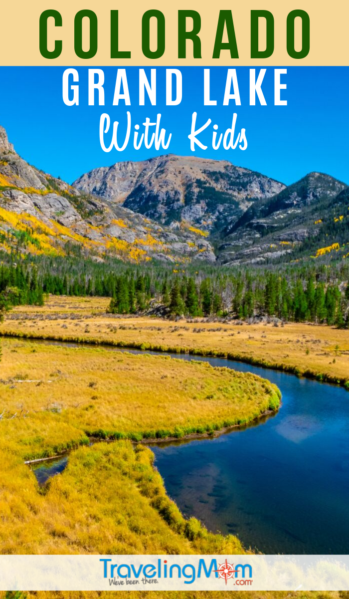 Get all the family-friendly activities to do in Grand Lake Colorado. Located near Rocky Mountain National Park, there's year-round outdoor fun including on the namesake lake. #TMOM #GrandLake #Colorado | TravelingMom | Family Travel | Travel with Kids