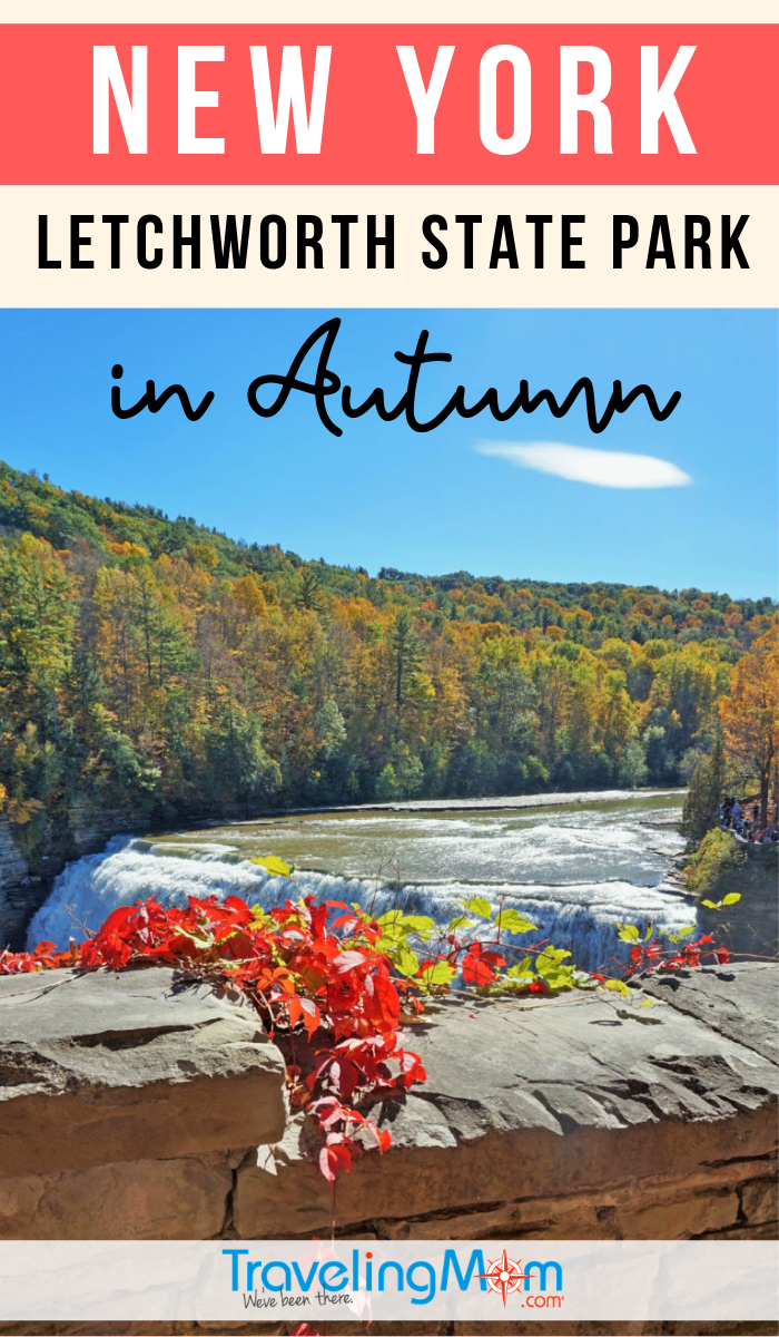 Letchworth State Park in New York is the number one state park and there's no better time to visit than in Autumn. Get the tips on exploring this gorgeous fall destination! #TMOM #NewYork #Letchworth #StateParks | TravelingMom | Fall Travel