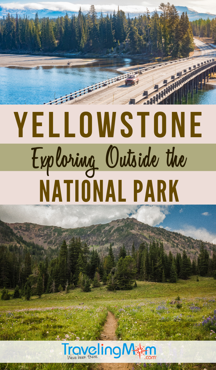 There's beauty and fun to explore outside of Yellowstone National Park. Find out the family activities in surrounding areas including Bozeman, Big Sky and West Yellowstone including day hikes, museums and restaurants. #TMOM #Montana #Yellowstone #NationalPark | TravelingMom | Montana