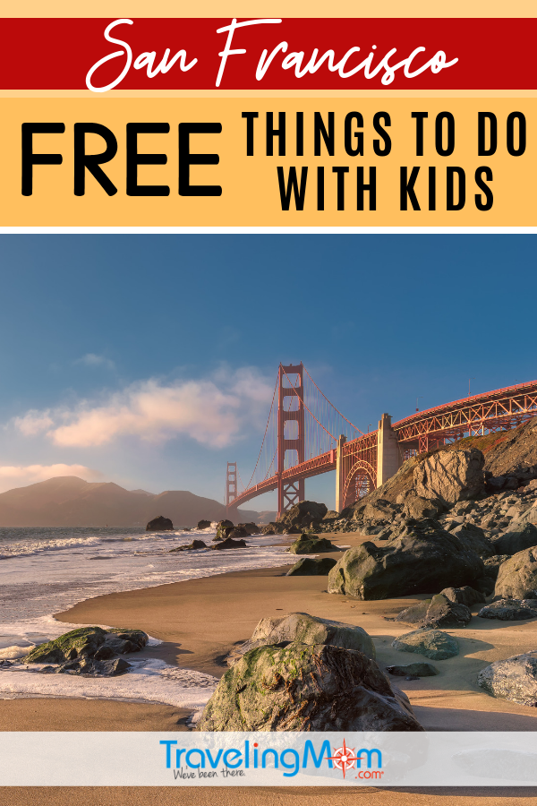 San Francisco is known for being one of the most expensive travel cities, but there are actually LOTS of fun things to do with kids on a budget. Read the list of free activities in the California City by the Bay! #TMOM #Freein50States #SanFrancisco #California | TravelingMom | Budget Travel | Travel with Kids