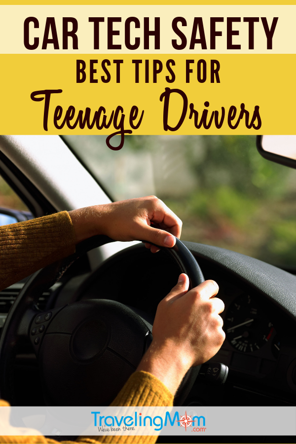 A family road trip is a great time to teach teens about car tech and safety trips for driving. #TMOM #Teen #Driving #CarSafety | TravelingMom #RoadTrip
