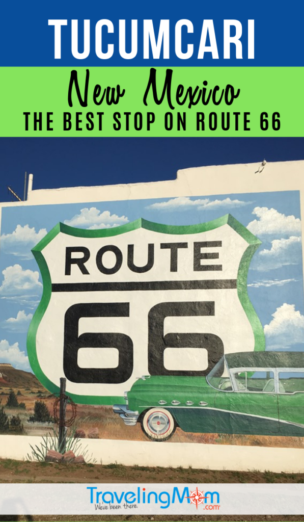 Tucumcari is the best stop along Route 66 that you've never heard of! Find out why this New Mexico locale is a road trip must-do including tips on where to stay, what to do with kids and other Route 66 stops. #TMOM #NewMexico #RoadTrip #Route66 | TravelingMom | Family Travel | Travel with Kids | Roadside Attractions