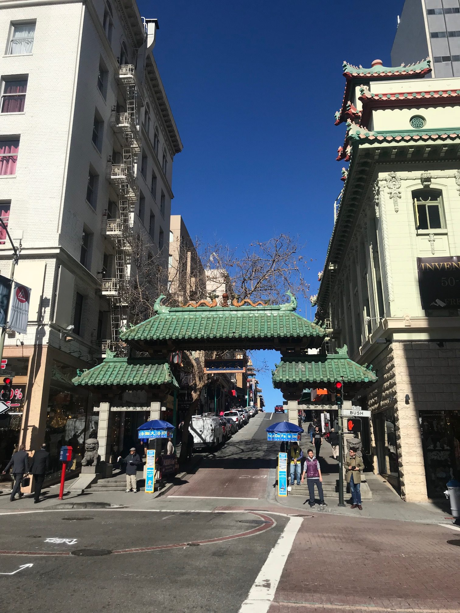 Explore Chinatown on foot, for free. Credit: Judy Antell