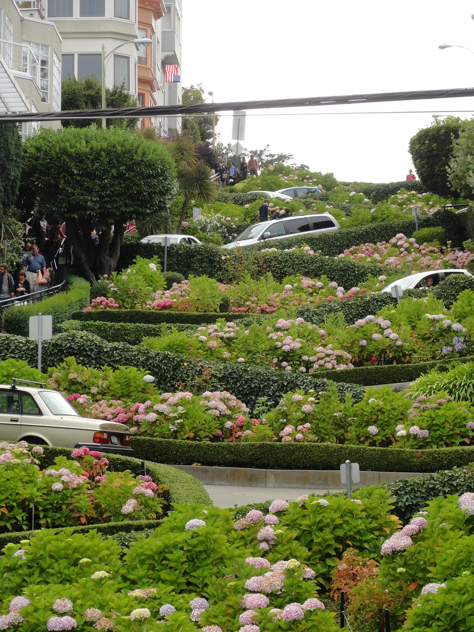 Lombard Street. Things to do in San Francisco