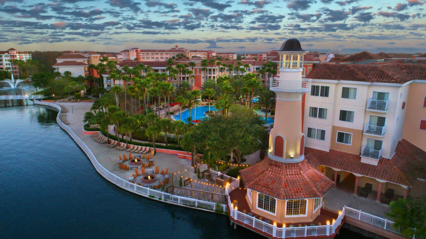 Marriott's Grande Vista is a favorite home base while visiting Disney.