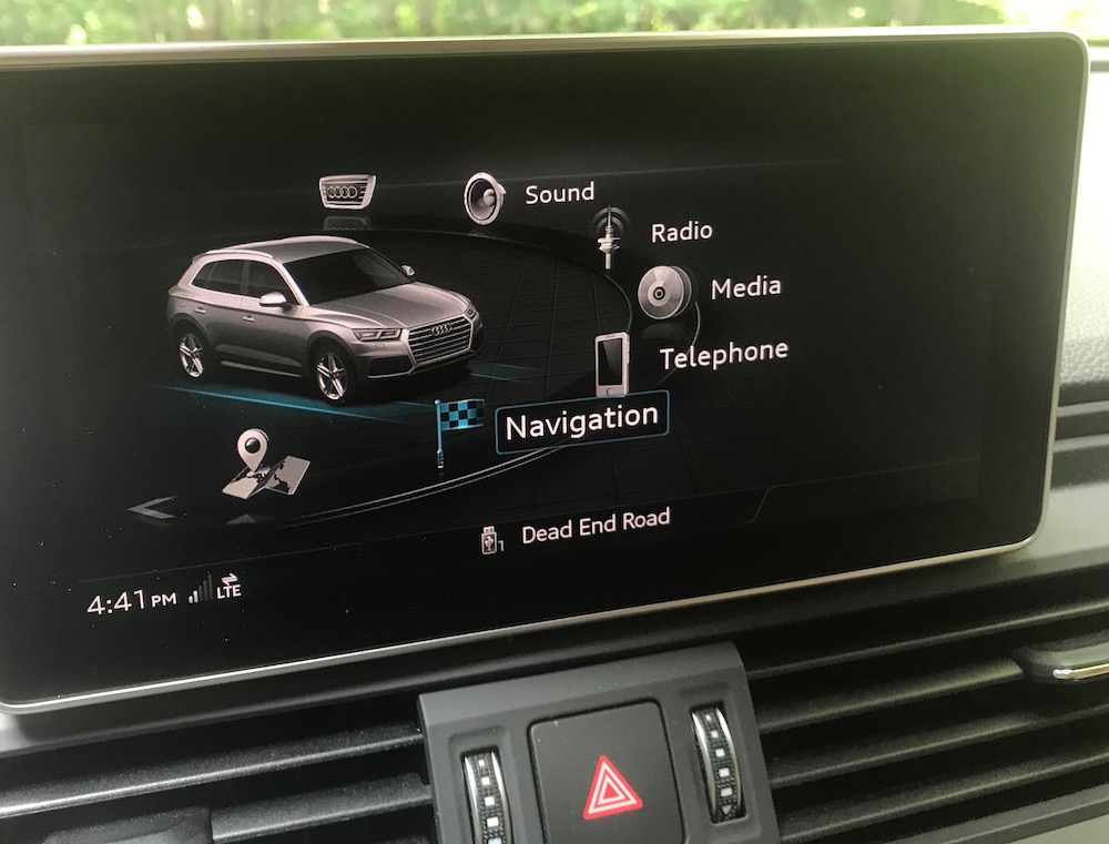 Older drivers using new car tech appreciate clear category titles.