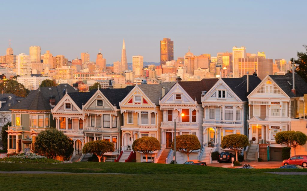 See the Painted Ladies on 1 day in San Francisco
