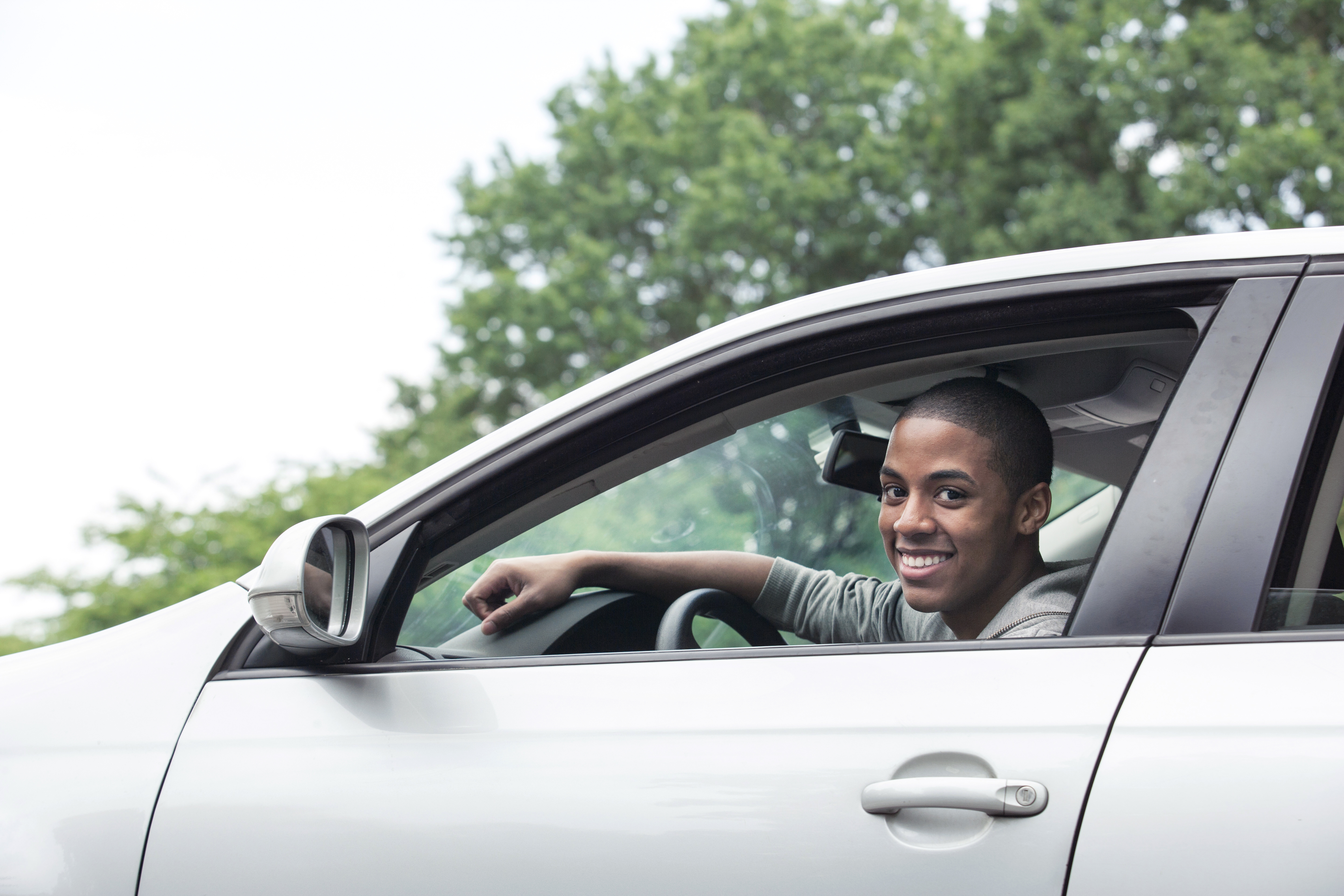 Use a family road trip to get your teen driver familiar with car tech safety features.